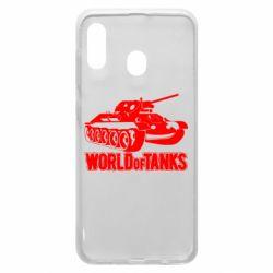 Чохол для Samsung A20 World Of Tanks Game