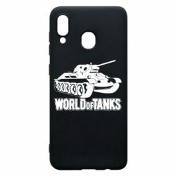 Чехол для Samsung A30 World Of Tanks Game