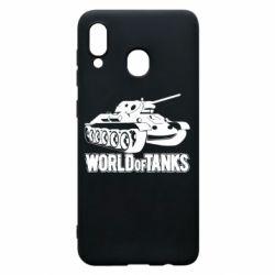Чохол для Samsung A30 World Of Tanks Game