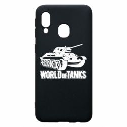 Чехол для Samsung A40 World Of Tanks Game