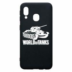 Чохол для Samsung A40 World Of Tanks Game