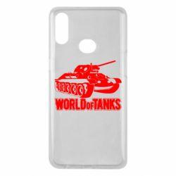 Чохол для Samsung A10s World Of Tanks Game
