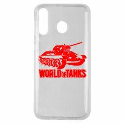 Чохол для Samsung M30 World Of Tanks Game