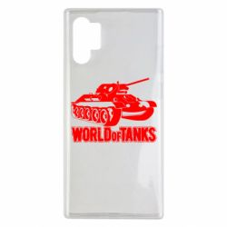 Чехол для Samsung Note 10 Plus World Of Tanks Game