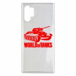 Чохол для Samsung Note 10 Plus World Of Tanks Game