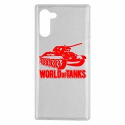 Чохол для Samsung Note 10 World Of Tanks Game