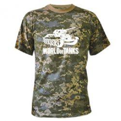 Камуфляжная футболка World Of Tanks Game - FatLine