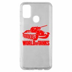 Чохол для Samsung M30s World Of Tanks Game