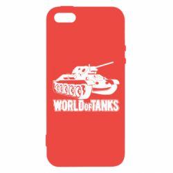 Чохол для iphone 5/5S/SE World Of Tanks Game