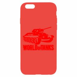Чехол для iPhone 6/6S World Of Tanks Game