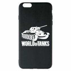 Чехол для iPhone 6 Plus/6S Plus World Of Tanks Game