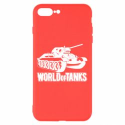 Чехол для iPhone 7 Plus World Of Tanks Game