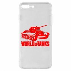 Чохол для iPhone 8 Plus World Of Tanks Game