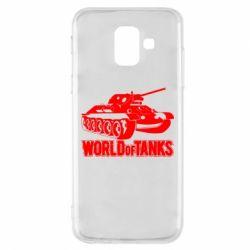 Чохол для Samsung A6 2018 World Of Tanks Game