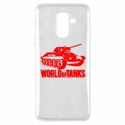 Чохол для Samsung A6+ 2018 World Of Tanks Game