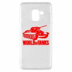 Чохол для Samsung A8 2018 World Of Tanks Game