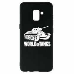 Чохол для Samsung A8+ 2018 World Of Tanks Game