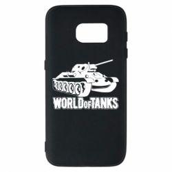 Чохол для Samsung S7 World Of Tanks Game