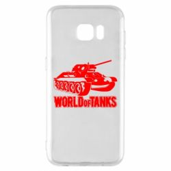 Чехол для Samsung S7 EDGE World Of Tanks Game