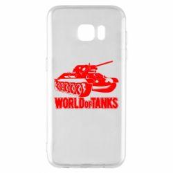 Чохол для Samsung S7 EDGE World Of Tanks Game