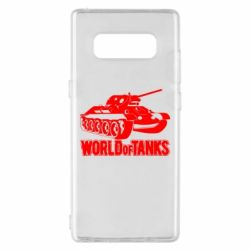 Чехол для Samsung Note 8 World Of Tanks Game