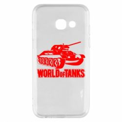 Чохол для Samsung A3 2017 World Of Tanks Game