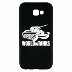 Чохол для Samsung A7 2017 World Of Tanks Game