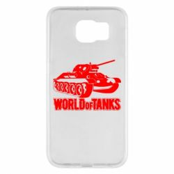 Чехол для Samsung S6 World Of Tanks Game