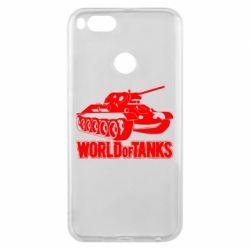 Чохол для Xiaomi Mi A1 World Of Tanks Game