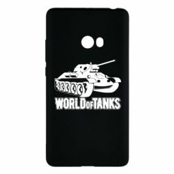 Чехол для Xiaomi Mi Note 2 World Of Tanks Game
