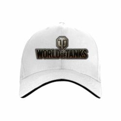 кепка World Of Tanks Logo - FatLine