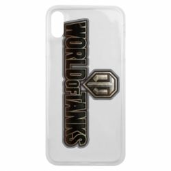 Чохол для iPhone Xs Max World Of Tanks Logo