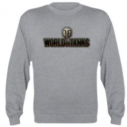 Реглан (свитшот) World Of Tanks Logo - FatLine