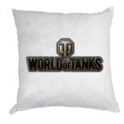 Подушка World Of Tanks Logo - FatLine