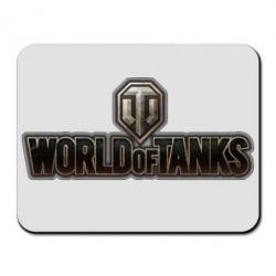 Коврик для мыши World Of Tanks Logo - FatLine