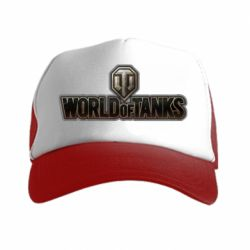 Кепка-тракер World Of Tanks Logo - FatLine
