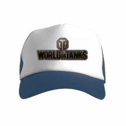 Дитяча кепка-тракер World Of Tanks Logo