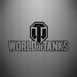 Наклейка World Of Tanks Logo - FatLine