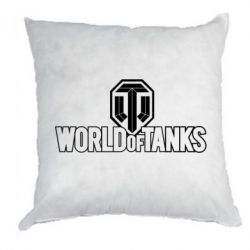 Подушка World Of Tanks Logo