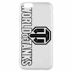 Чохол для iPhone 6/6S World Of Tanks Logo