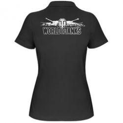 Женская футболка поло World of Tanks - FatLine
