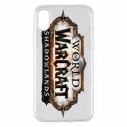 Чехол для iPhone X/Xs World of Warcraf Shadowlands