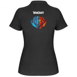 Женская футболка поло World of warcraft battle for azeroth