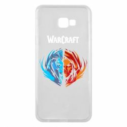 Чехол для Samsung J4 Plus 2018 World of warcraft battle for azeroth