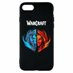 Чехол для iPhone 8 World of warcraft battle for azeroth