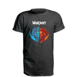 Удлиненная футболка World of warcraft battle for azeroth