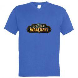 Чоловіча футболка з V-подібним вирізом World of Warcraft game