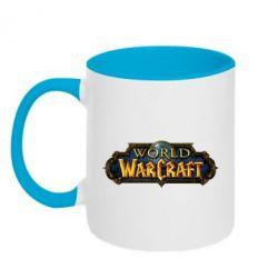 Кружка двоколірна 320ml World of Warcraft game