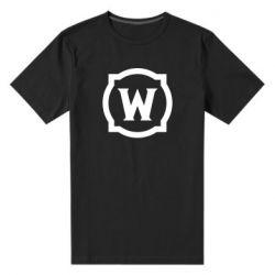 Чоловіча стрейчева футболка World of warcraft icon