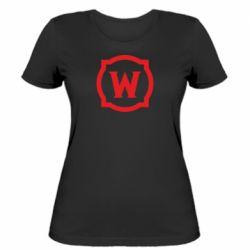 Жіноча футболка World of warcraft icon
